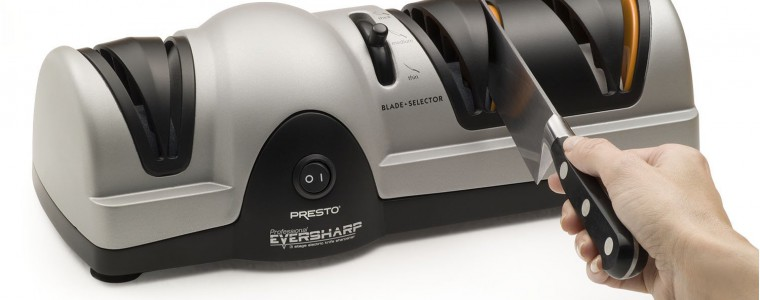 The Presto 08810 Professional Electric Knife Sharpener Can Work On Various Types Of Blades