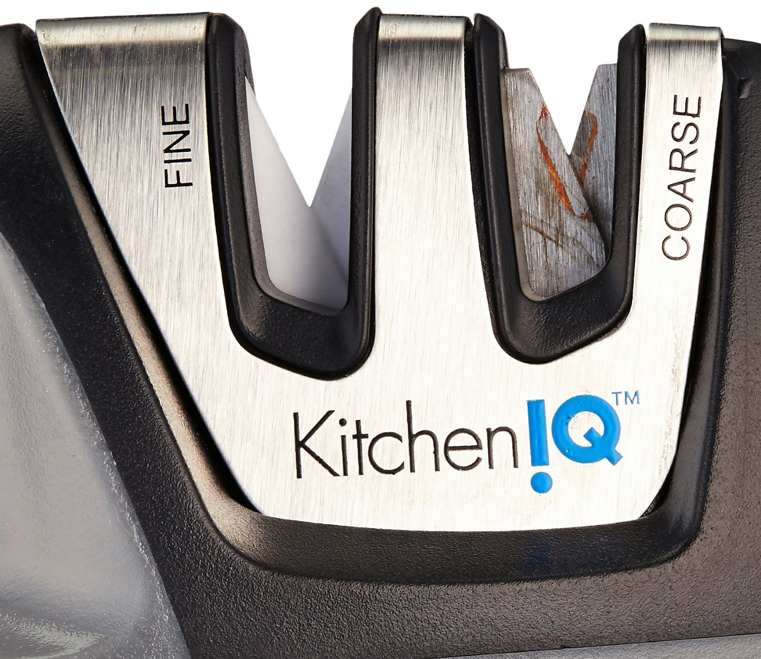 Kitchen Iq Edge Grip 2 Stage Knife Sharpener Knife