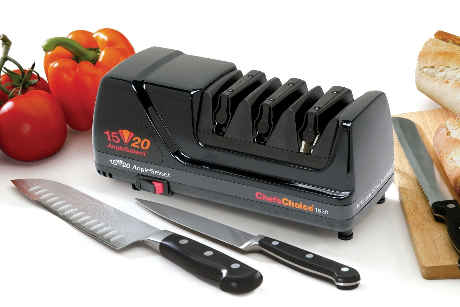 The Device Features A 3 Year Warranty By Chef's Choice
