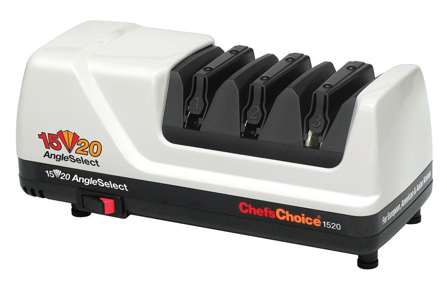 The Chef Choice 1520 Is Designed & Manufactured In The USA