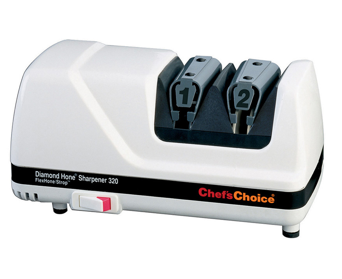 Chef's Choice 320: A 2-Stage System Designed For 20 Degree Knife Edges