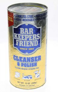 When Talking About How To Clean A Sharpening Stone, Bar Keepers Friend Is By Far One Of The Most Effective Products To Use!