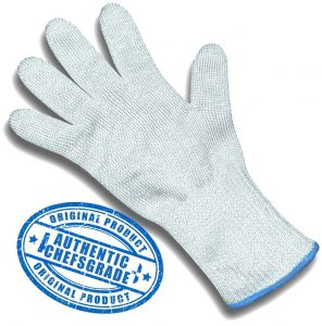 ChefsGrade Safety Glove: Made From High Performance Polyethylene And Reinforced With Stainless Steel Wire!