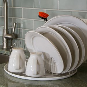 Does Your Dish Rack See Mostly Dishes & Mugs Only, Or Large Pots & Pans Also?