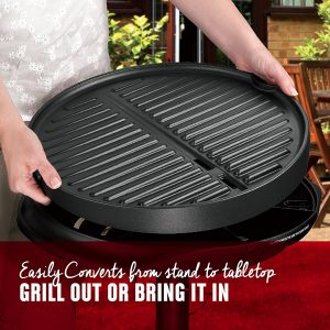 240 Square Inches Of Grilling Surface!