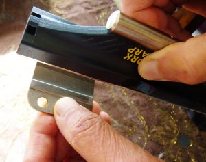You Can Also Sharpen By Holding The Stone And Abrading Against Each Surface. This Way May Be Easier For Some!