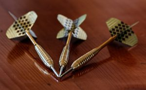 Notice How Round The Tips Are On These 3 Darts? That's What You Should Be Striving For!