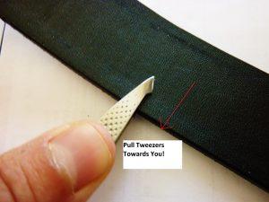 Pull Towards You Till Both Tweezer Tips Make Contact