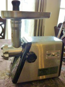 I Love My Waring Pro Meat Grinder!