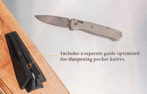 Work Sharp E2 Plus Pocket Knife Guide